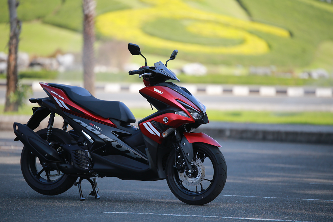Aerox 155 spied in India: Is this Yamahas secret scooter